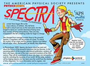 Spectra Postcard for APS