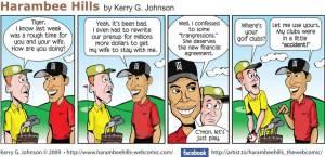 Tiger Woods had a bad week