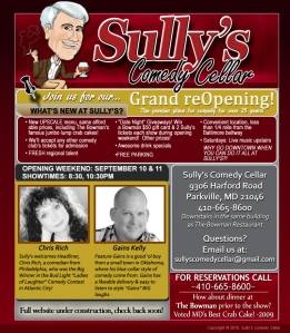 Sully's Comedy Club Web Image